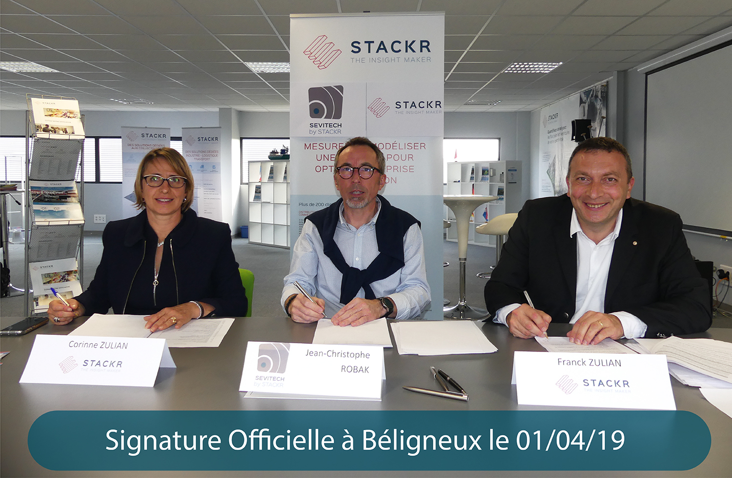 Signature Stackr et Sevitech