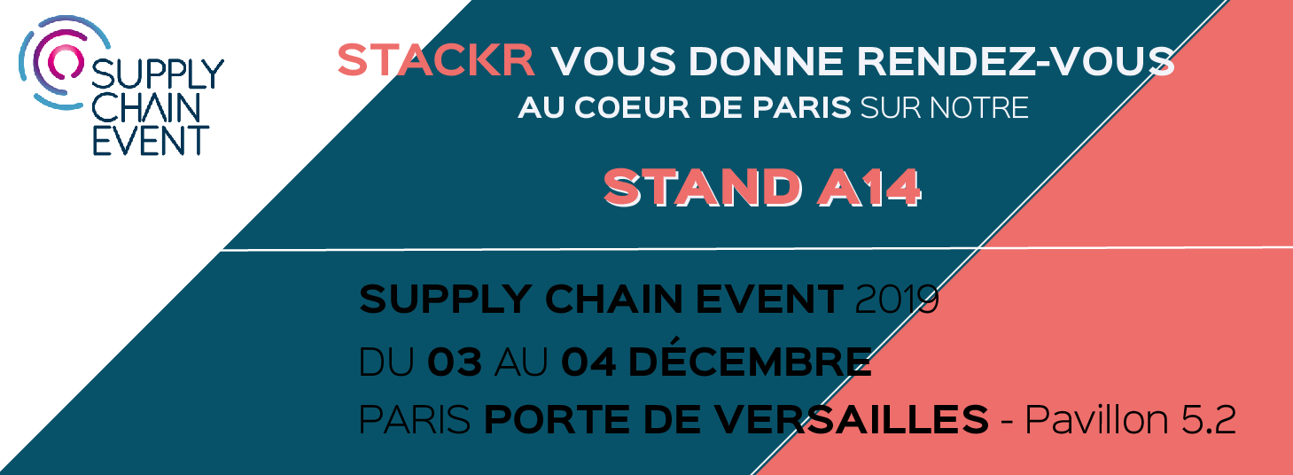 Stackr stand Supply Chain Event 2019